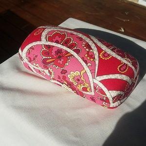 Vera Bradley hard eye glass case